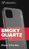 Zadní kryt Cellularline Elemento Smoky Quartz pro Apple iPhone 11 Pro Max