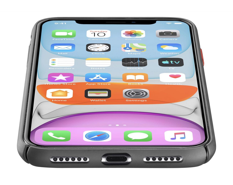 Zadní kryt Cellularline Elemento Black Onyx pro Apple iPhone 11