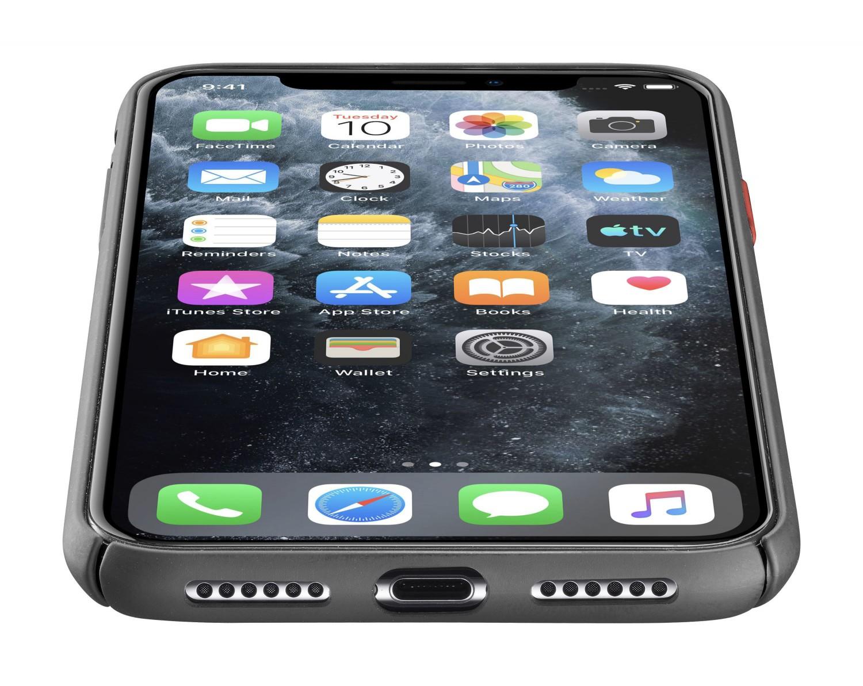 Zadní kryt Cellularline Elemento Black Onyx pro Apple iPhone 11 Pro Max