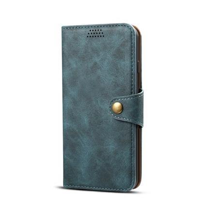 Lenuo Leather flipové pouzdro na Xiaomi Redmi Note 7, blue