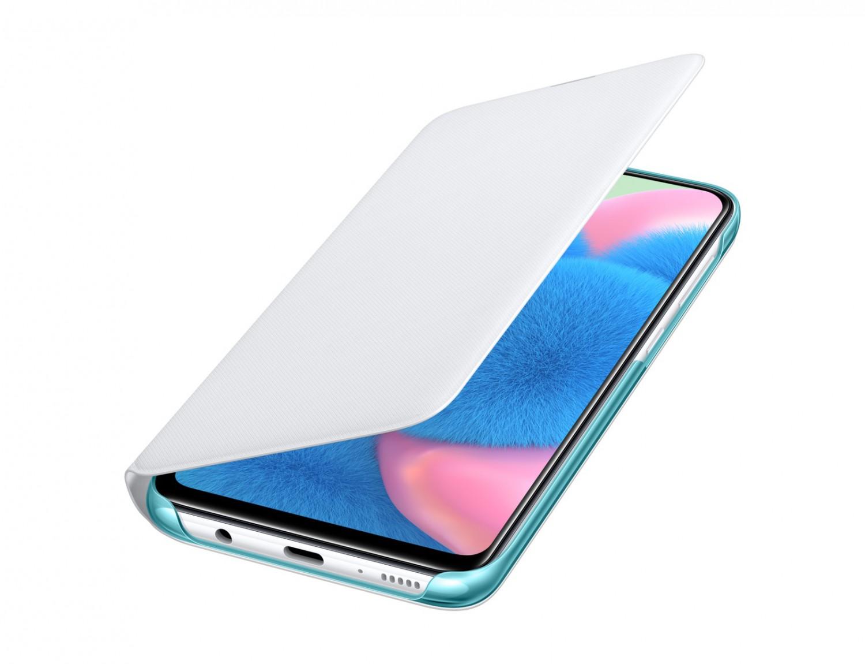 EF-WA307PWE Samsung Wallet Pouzdro pro Galaxy A30s/A50 White (EU Blister)