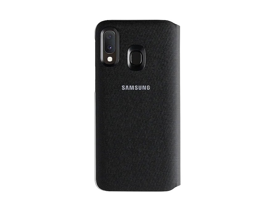 Flipové pouzdro Samsung Wallet pro Samsung Galaxy A20e, black