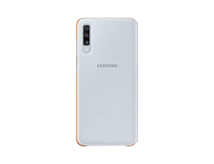 Flipové pouzdro Samsung Wallet pro Samsung Galaxy A70, white