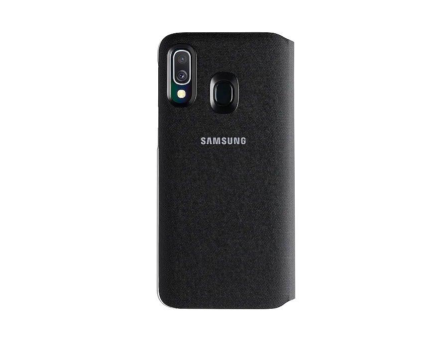 Pouzdro Samsung Wallet pro Samsung Galaxy A40, black