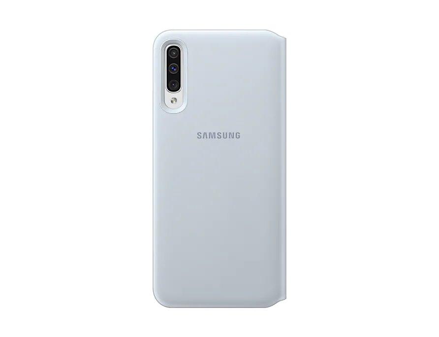 Flipové pouzdro Samsung Wallet pro Samsung Galaxy A50, white