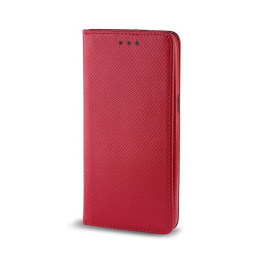 Smart Magnet flipové pouzdro pro Xiaomi Redmi 8A, červené