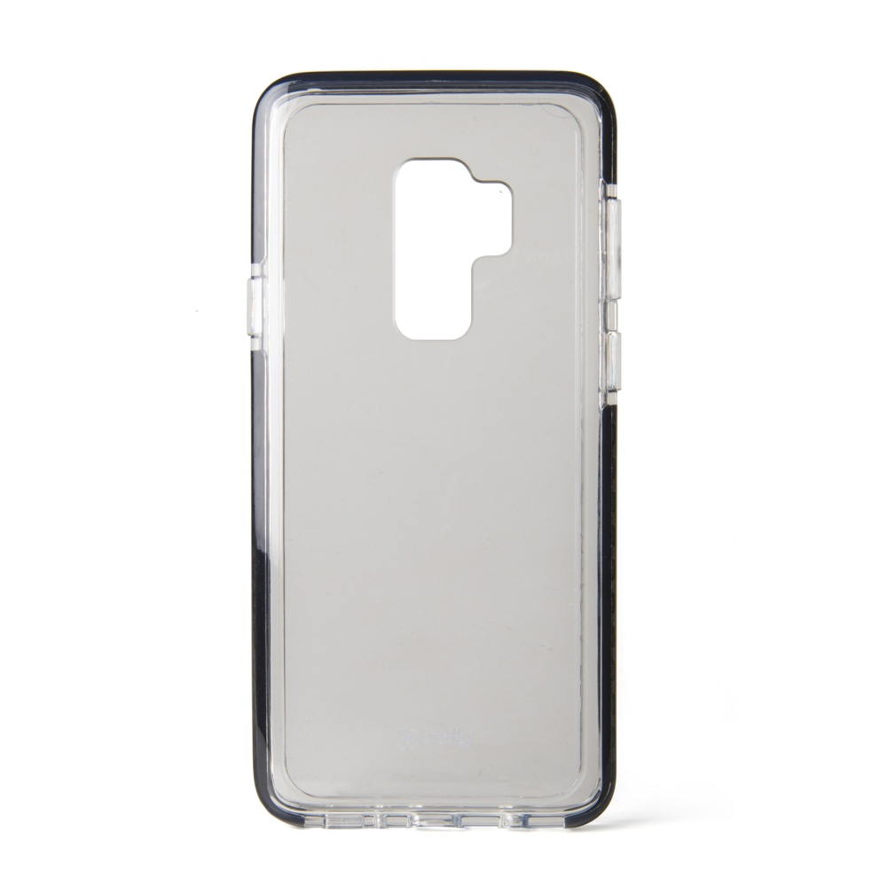 Zadní kryt CELLY Hexagon pro Samsung Galaxy S9 Plus, černý