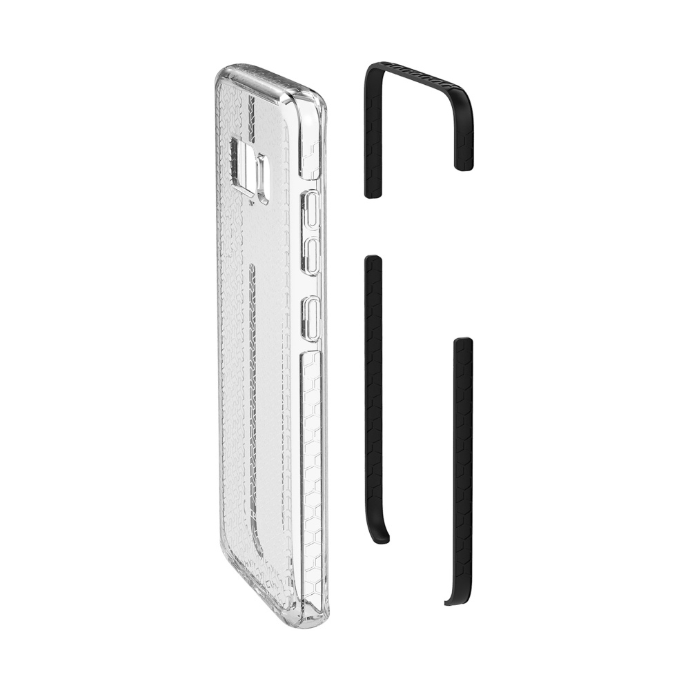 Zadní kryt CELLY Hexagon pro Samsung Galaxy S8, černý