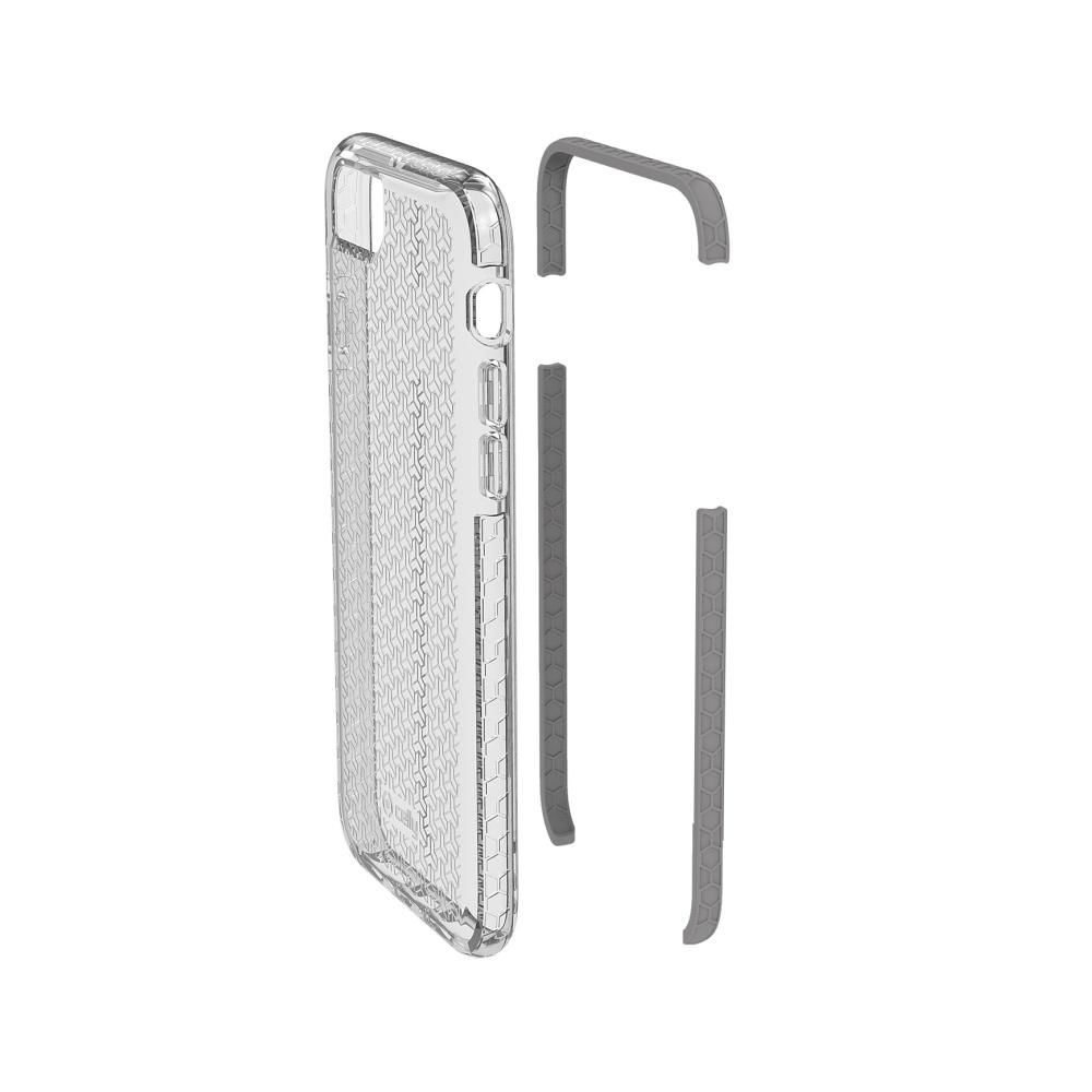 Zadní kryt CELLY Hexagon pro Apple iPhone 7/8, šedý