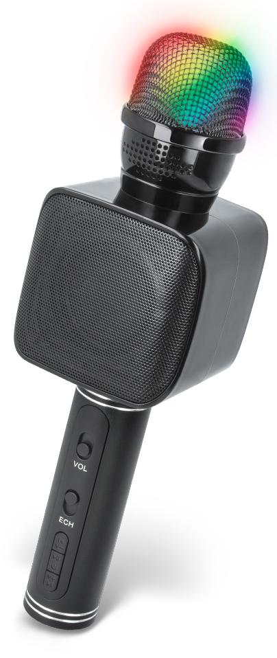 Bluetooth mikrofon Forever BMS-400 černá