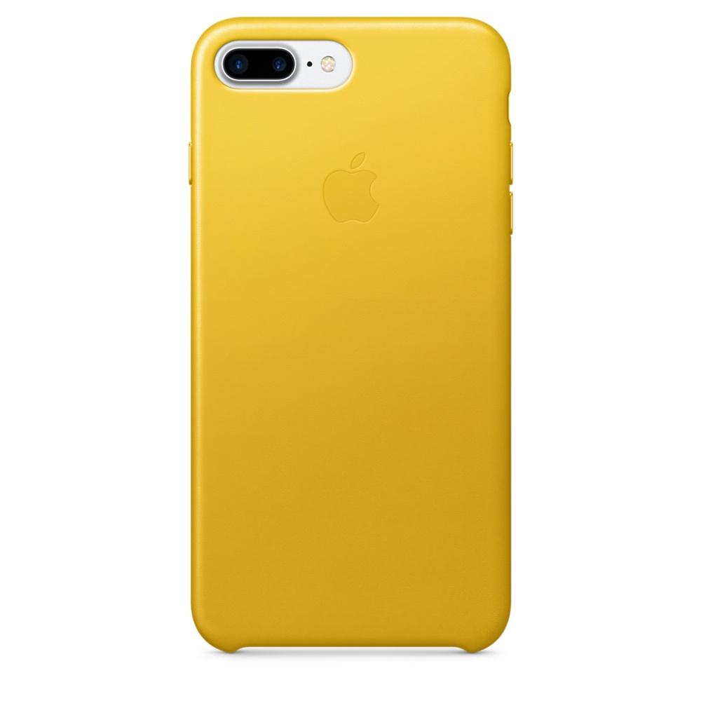 Kožené pouzdro Leather Case pro Apple iPhone 7 Plus, sunflower