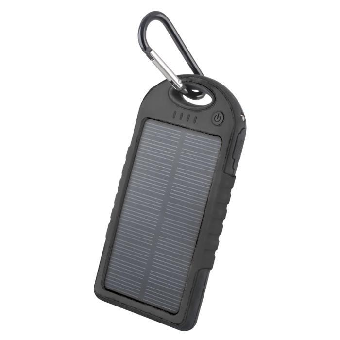 Solární power banka Forever STB-200 5000 mAh černá