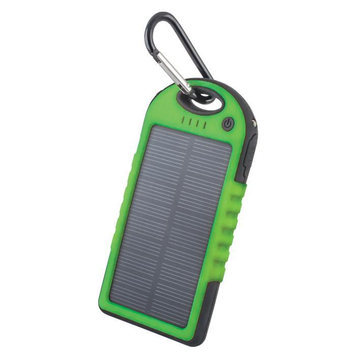 Solární power banka 5000 mAh Forever STB-200 zelená
