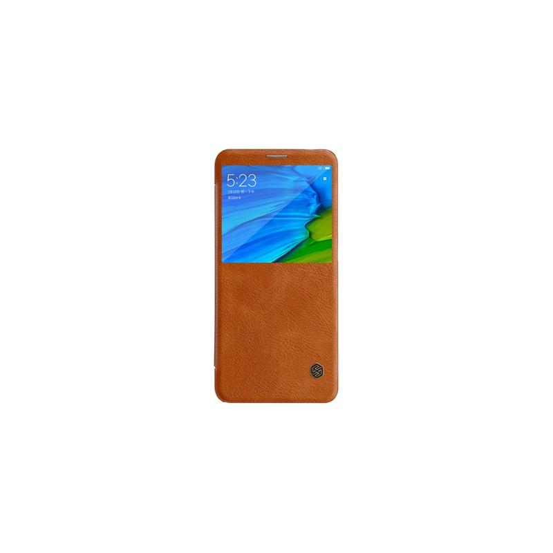 Nillkin Qin S-View flipové pouzdro pro Xiaomi Redmi Note 5, brown