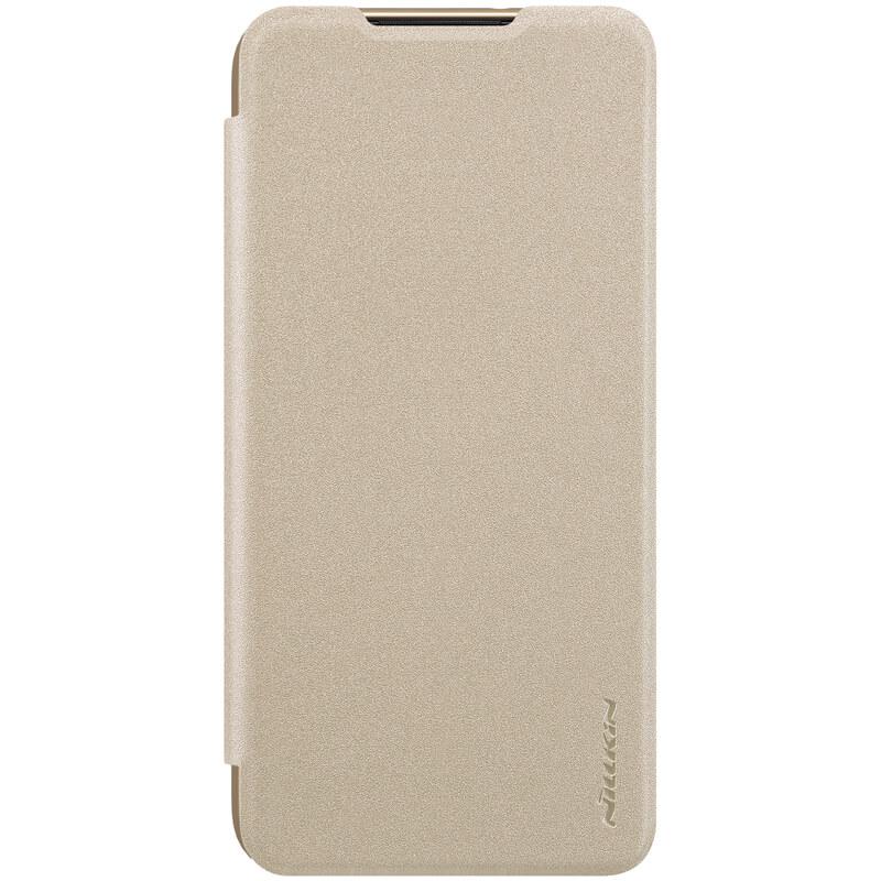 Nillkin Sparkle flipové pouzdro pro Xiaomi Mi 9 Lite, gold