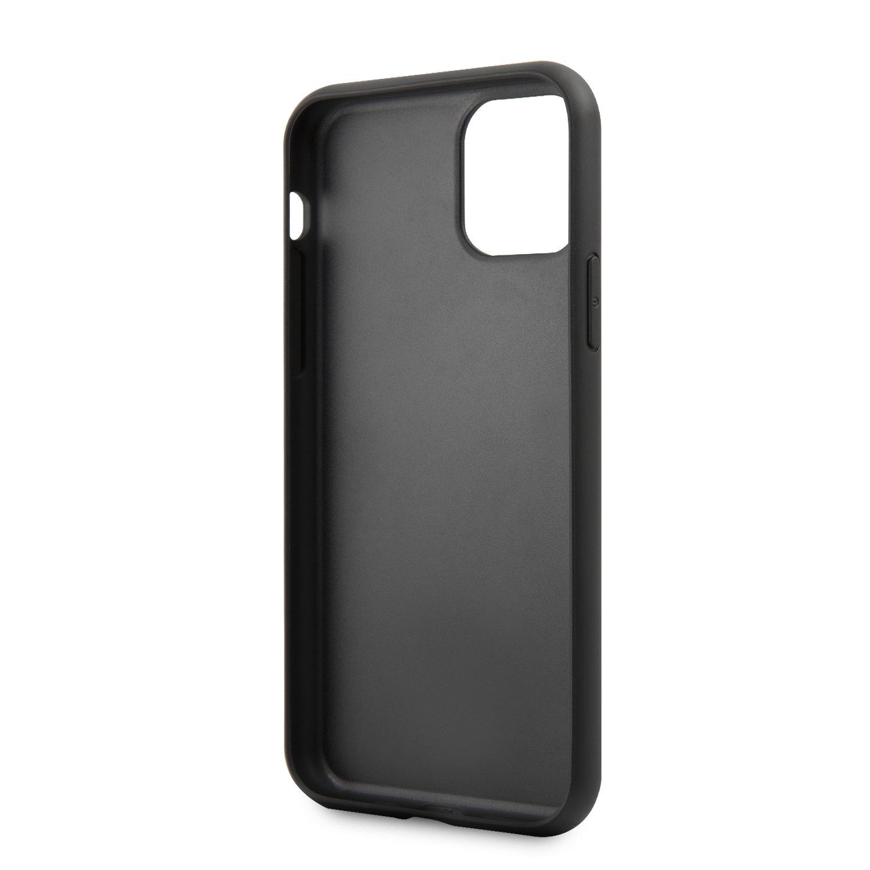 Guess Marble Zadní kryt GUHCN61HYMABK pro Apple iPhone 11 black