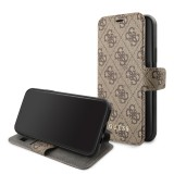 Guess Charms 4G pouzdro flip pro Apple iPhone 11 brownG iPhone 11, Brown