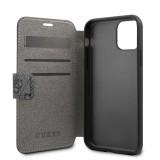 Guess Charms 4G pouzdro flip pro Apple iPhone 11 Pro grey