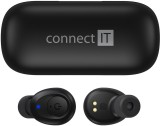 Bluetooth sluchátka Connect It True Wireless HYPER-BASS Ed. II (CEP-9100-BK) černá