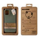 Zadní kryt Bambootek Muvit For Change ECO pro Apple iPhone 11, Moss