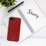 Zadní kryt FIXED Story pro Xiaomi Redmi Note 8 Pro, červený