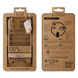 Zadní kryt Muvit For Change Recycletek ECO pro Apple iPhone 11, transparent