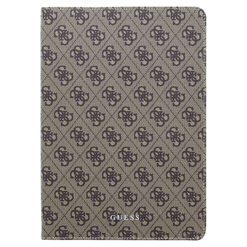 Guess 4G Pouzdro GUFCPA11QGB pro iPad Air 10.5 2019 black/brown