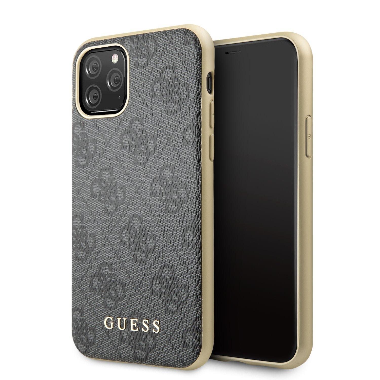 Guess 4G Zadní kryt GUHCN61G4GG pro Apple iPhone 11 grey