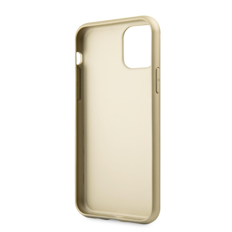 Guess 4G Zadní kryt GUHCN65G4GB pro Apple iPhone 11 Pro Max brown