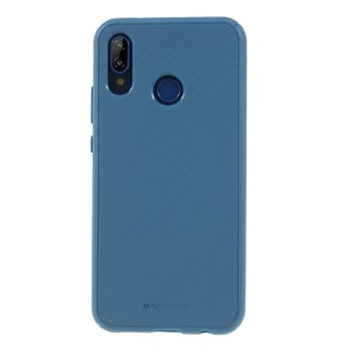Silikonové pouzdro Mercury Style Lux pro Apple iPhone 11 Pro, modrá