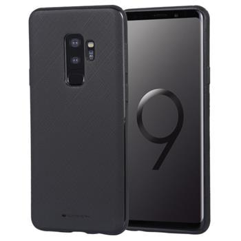 Silikonové pouzdro Mercury Style Lux pro Samsung Galaxy A7 2018, černá