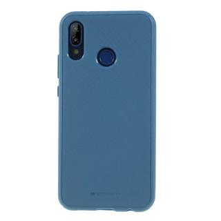 Silikonové pouzdro Mercury Style Lux pro Samsung Galaxy S9, modrá