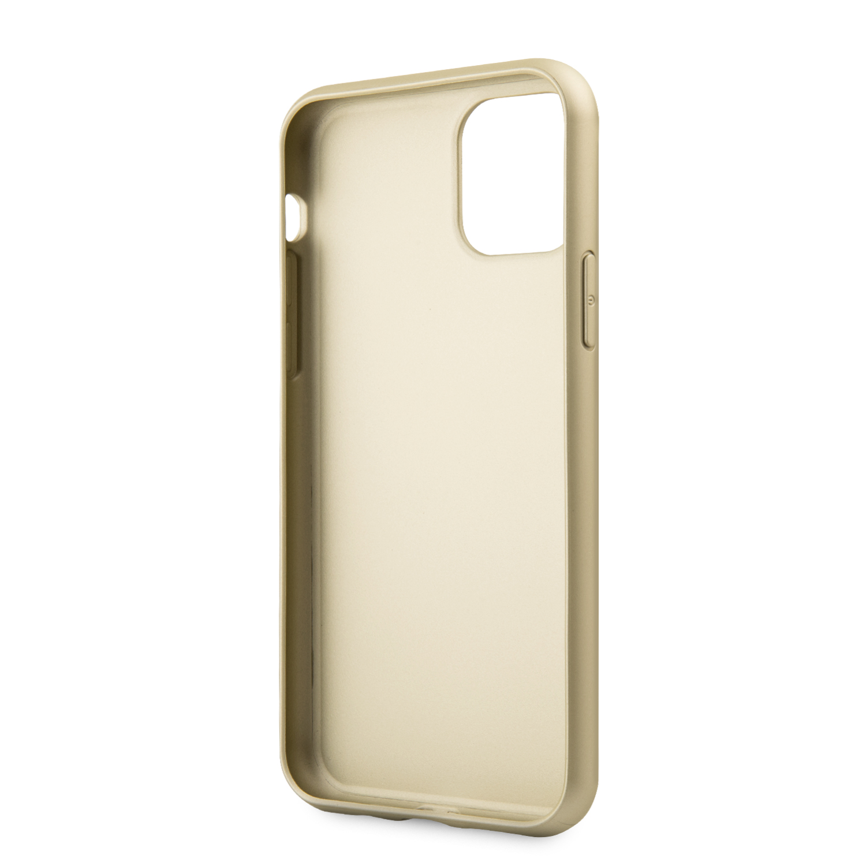 Guess Iridescent Zadní kryt GUHCN61IGLGO pro Apple iPhone 11 gold
