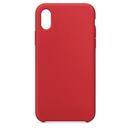 Silikonové pouzdro Swissten Liquid pro Samsung Galaxy A10, červená