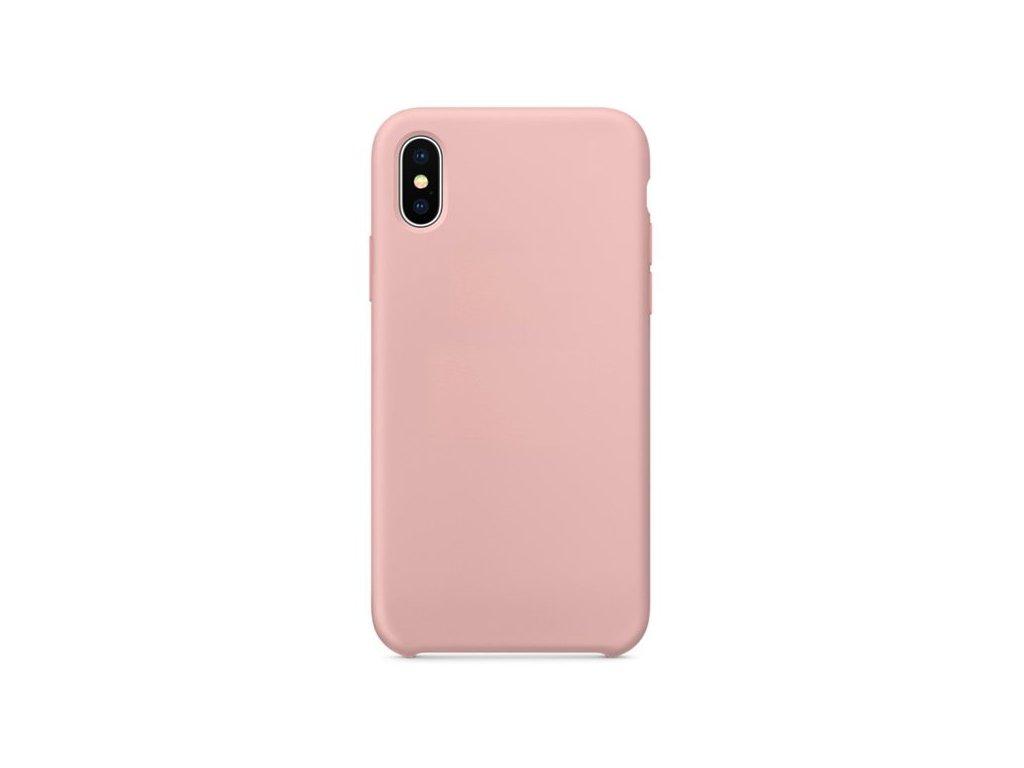 Silikonové pouzdro Swissten Liquid pro Huawei Y6 2019, růžová