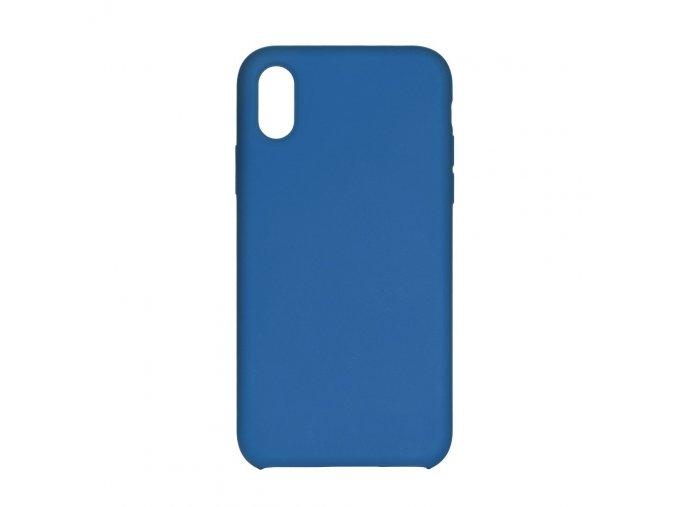 Silikonové pouzdro Swissten Liquid pro Samsung Galaxy A20e, modrá