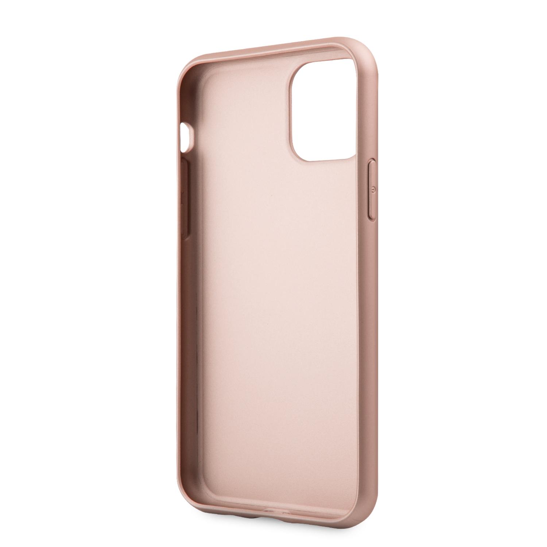 Guess Iridescent Zadní kryt GUHCN61IGLRG pro Apple iPhone 11 rose
