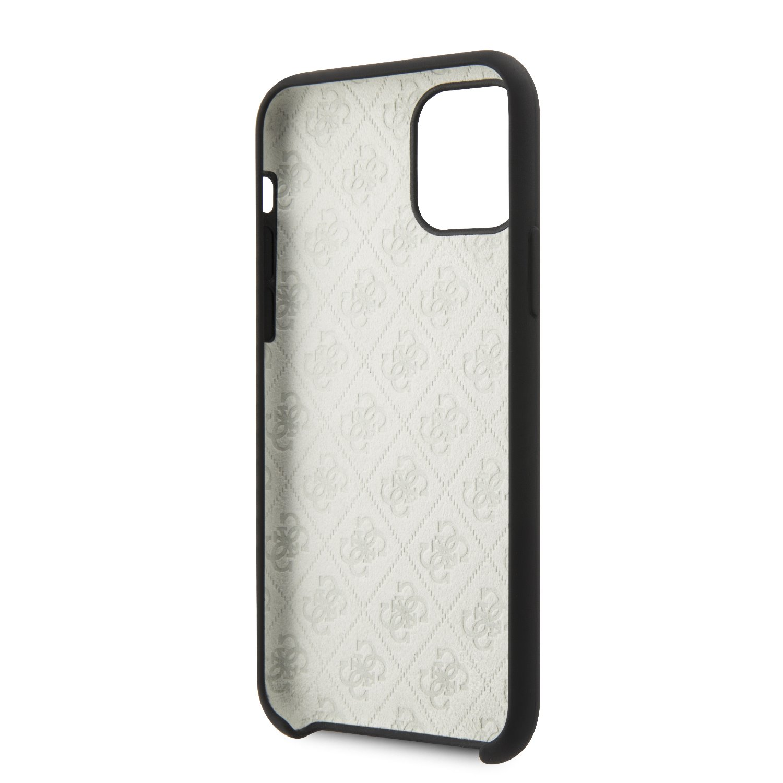 Guess 4G Tone on Tone Zadní kryt GUHCN61LS4GBK pro Apple iPhone 11 black