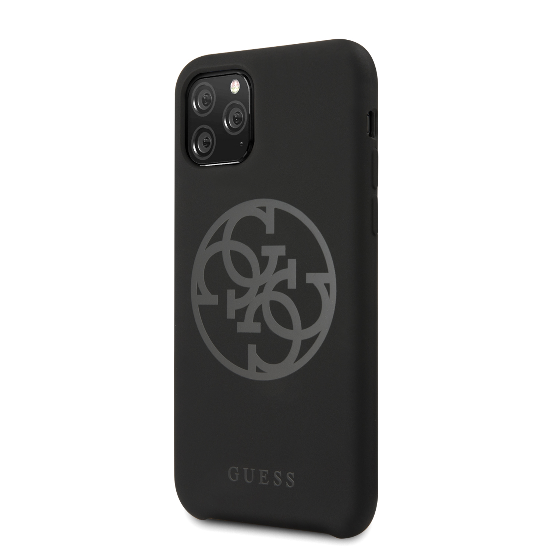 Guess 4G Tone on Tone Zadní kryt GUHCN58LS4GBK pro Apple iPhone 11 Pro black