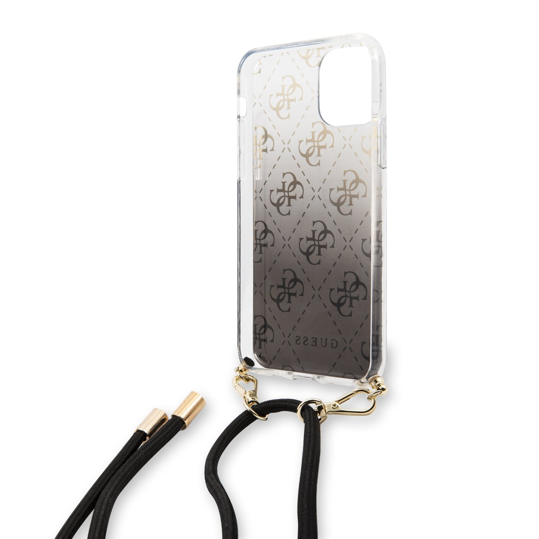 Guess 4G Gradient Zadní kryt GUHCN61WO4GBK pro Apple iPhone 11 black