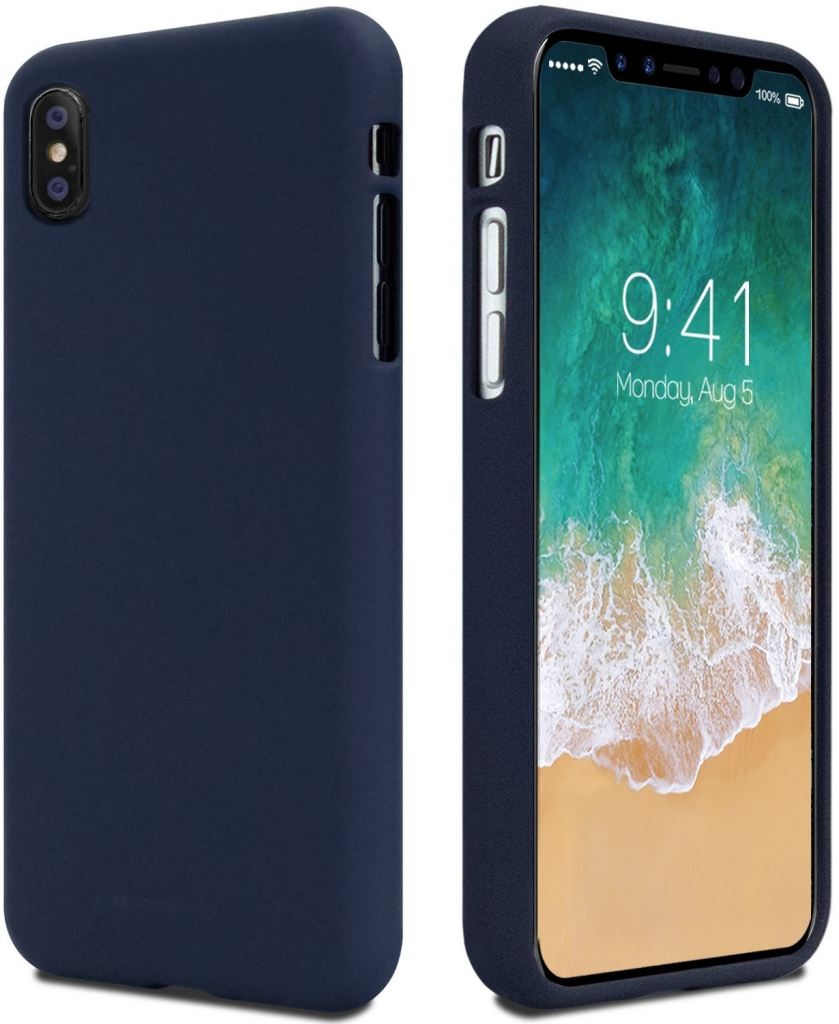 Pouzdro Mercury Soft Feeling pro Xiaomi Redmi Note 7, midnight blue