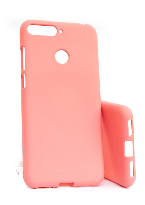 Pouzdro Mercury Soft Feeling pro Xiaomi Redmi Note 7, pink
