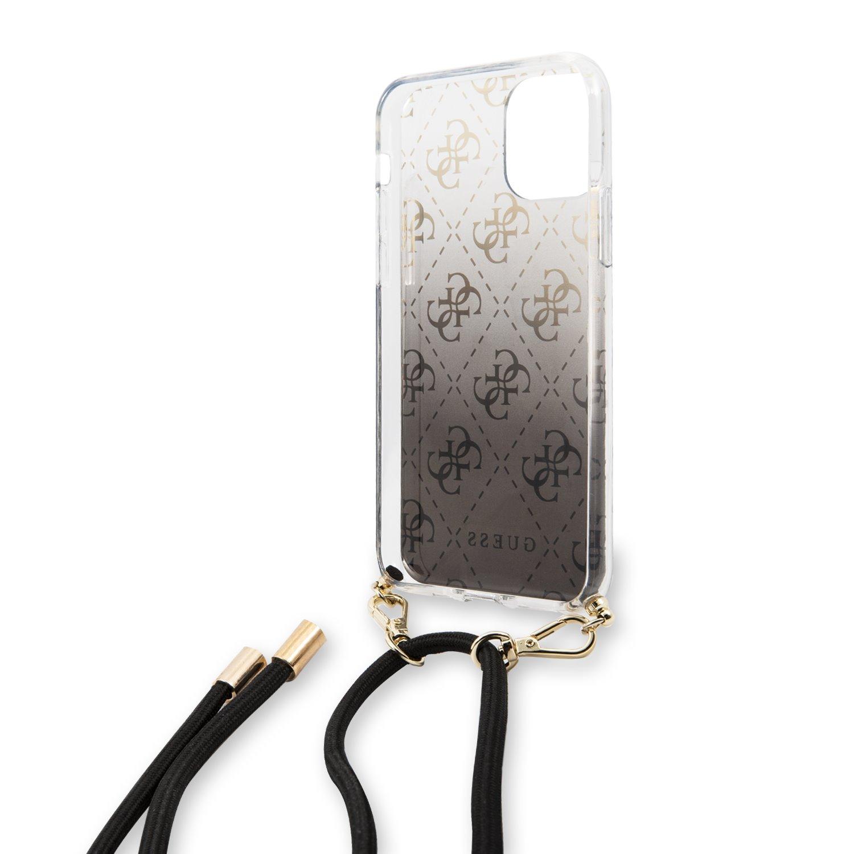Guess 4G Gradient Zadní kryt GUHCN65WO4GBK pro Apple iPhone 11 Pro Max black