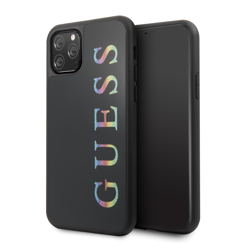 Guess Multicolor Glitter GUHCN58LGMLBK Zadní kryt pro Apple iPhone 11 Pro