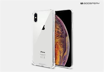 Silikonové pouzdro Mercury Super Protect pro Apple iPhone 11 Pro Max, transparentní