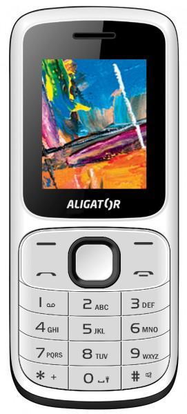 Aligator D210 bílá / černá