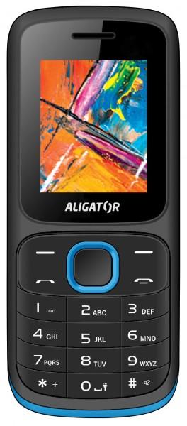 Aligator D210 černá / modrá