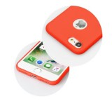 Zadní kryt Forcell Soft pro Xiaomi Redmi 8, červená