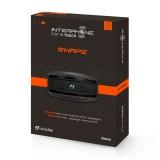 Bluetooth handsfree pro uzavřené a otevřené přilby CellularLine Interphone SHAPE, Single Pack