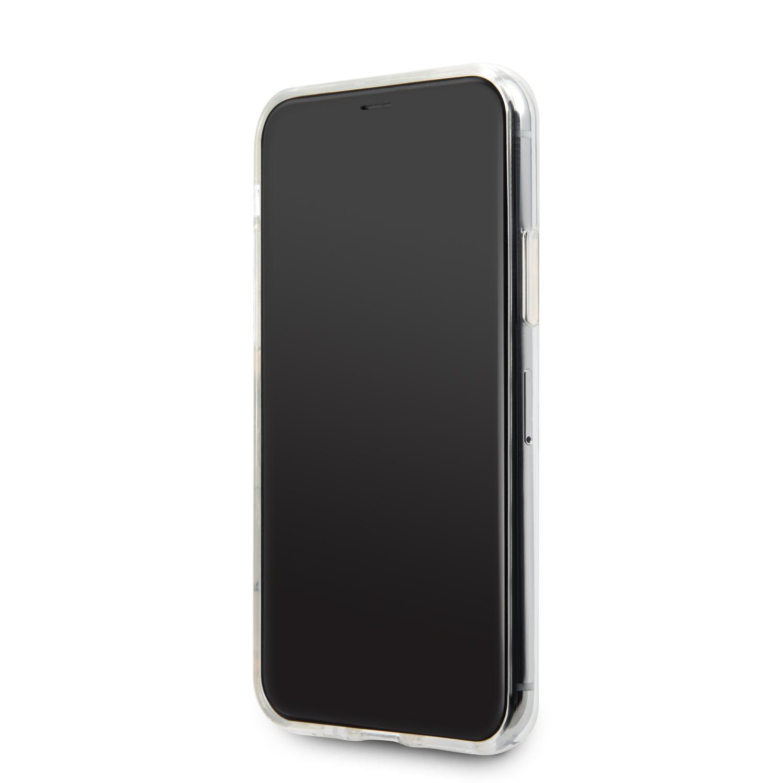 Guess Solid Glitter Zadní kryt GUHCN58SGTLGO pro Apple iPhone 11 Pro gold
